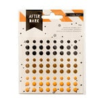 Crate Paper - After Dark Collection - Halloween - Enamel Dots
