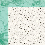 Crate Paper - Maggie Holmes Collection - Shine - 12 x 12 Double Sided Paper - Sparkle