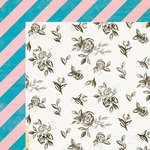 Crate Paper - Maggie Holmes Collection - Shine - 12 x 12 Double Sided Paper - Darling