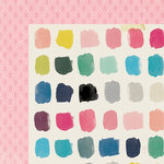 Crate Paper - Maggie Holmes Collection - Shine - 12 x 12 Double Sided Paper - Carefree