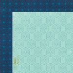 Crate Paper - Maggie Holmes Collection - Shine - 12 x 12 Double Sided Paper - Brilliant
