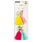 Crate Paper - Maggie Holmes Collection - Shine - Tassels with Glitter Accents