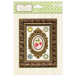 American Crafts - Crate Paper - Pretty Party Collection - Foil Frames