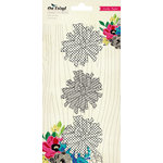 American Crafts - Crate Paper - On Trend Collection - Fabric Flowers