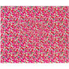 Crate Paper - Patterned Cloth Album - 12 x 12 D-Ring - On Trend Floral