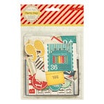 American Crafts - Crate Paper - Party Day Collection - Ephemera Pack