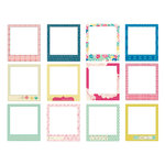 Crate Paper - Maggie Holmes Collection - Stitched Fabric Frames