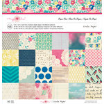 American Crafts - Crate Paper - Maggie Holmes Collection - 12 x 12 Paper Pad