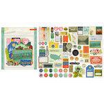 Crate Paper - Open Road Collection - Ephemera Pack