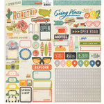 Crate Paper - Open Road Collection - Cardstock Stickers