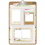 Crate Paper - Notes and Things Collection - Chipboard Frames