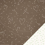 Crate Paper - Kiss Kiss Collection - 12 x 12 Double Sided Paper - Constellation