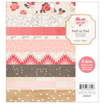 Crate Paper - Kiss Kiss Collection - 6 x 6 Paper Pad