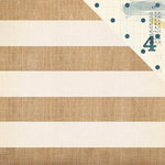 Crate Paper - Craft Market Collection - 12 x 12 Double Sided Paper - Textures