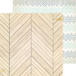 Crate Paper - Craft Market Collection - 12 x 12 Double Sided Paper - Craftsman