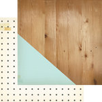 Crate Paper - Craft Market Collection - 12 x 12 Double Sided Paper - Studio