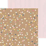 Crate Paper - Craft Market Collection - 12 x 12 Double Sided Paper with Foil Accents - Create