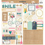 Crate Paper - Craft Market Collection - Cardstock Stickers - Journaling and Title