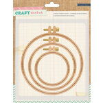 Crate Paper - Craft Market Collection - Wood Hoops