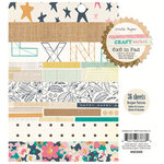 Crate Paper - Craft Market Collection - 6 x 6 Paper Pad