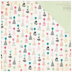 Crate Paper - Confetti Collection - 12 x 12 Double Sided Paper - Surprise