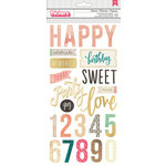 Crate Paper - Confetti Collection - Thickers - Chipboard - Phrases - Celebrate