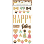 Crate Paper - Confetti Collection - Wood Veneer Shapes