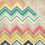Crate Paper - Journey Collection - 12 x 12 Double Sided Paper - Tribal