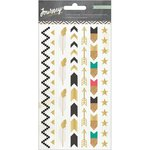Crate Paper - Journey Collection - Puffy Stickers