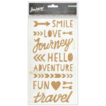 Crate Paper - Journey Collection - Cork Stickers