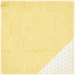 Crate Paper - Poolside Collection - 12 x 12 Double Sided Paper - Sunshine