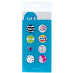 American Crafts - Teen Collection - Teen Flair - Adhesive Badges - Blah Blah Blah, CLEARANCE