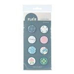 American Crafts - I Do Collection - Flair - 8 Adhesive Badges - Our Wedding, CLEARANCE