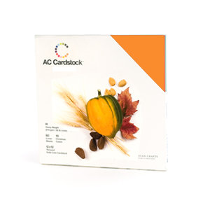 American Crafts - 12 x 12 Cardstock Pack - 60 Sheets - Autumn