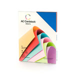 American Crafts - 8.5 x 11 Cardstock Pack - 60 Sheets - Brights