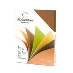 American Crafts - 8.5 x 11 Cardstock Pack - 60 Sheets - Earth Tones