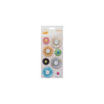 American Crafts - Amy Tangerine Collection - Sketchbook - Delights - 3 Dimensional Stickers - Brilliance