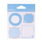 American Crafts - Pebbles - New Arrival Collection - Cardstock Stickers - Journaling Boy
