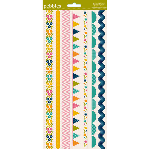 Pebbles - Sunnyside Collection - Stickers - Border