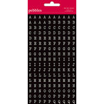 American Crafts - Pebbles - Walnut Grove Collection - Stickers - Mini Alphabet