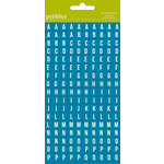 American Crafts - Pebbles - Family Ties Collection - Stickers - Mini Alphabet