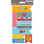 American Crafts - Pebbles - Party with Amy Locurto - Cardstock Stickers - Labels - Hero