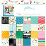 Pebbles - Birthday Wishes Collection - 12 x 12 Paper Pad