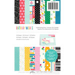 Pebbles - Birthday Wishes Collection - 5.5 x 8.5 Cardmaking Paper Pad