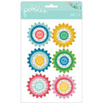 Pebbles - Birthday Wishes Collection - Rosettes