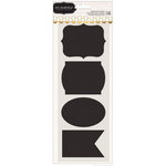 Pebbles - Homemade Collection - Chalkboard Stickers - Labels