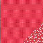Pebbles - Home For Christmas Collection - 12 x 12 Double Sided Paper - Christmas Cheer