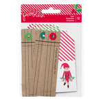 Pebbles - Home For Christmas Collection - Tags