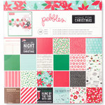 Pebbles - Home For Christmas Collection - 12 x 12 Paper Pad