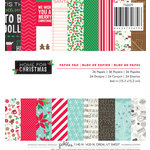 Pebbles - Home For Christmas Collection - 6 x 6 Paper Pad